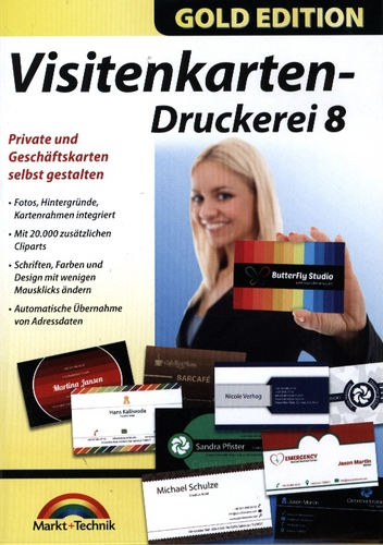 Gold Edition: Visitenkarten-Druckerei 8