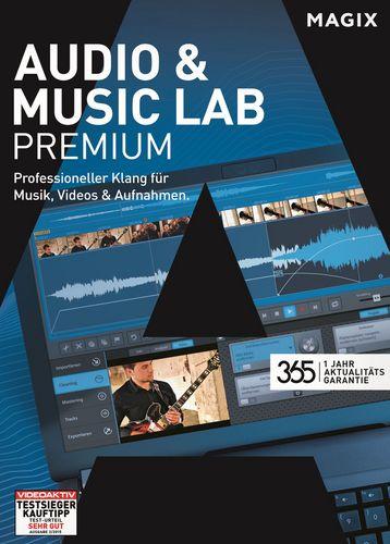 MAGIX Audio & Music Lab Premium 365