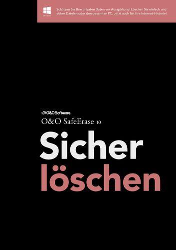 O&O SafeErase 10 Sicher löschen Professional Edition