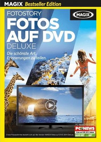 Bestseller MAGIX Fotos auf DVD Deluxe