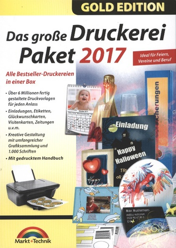 Gold Edition: Das grosse Druckerei Paket 2017