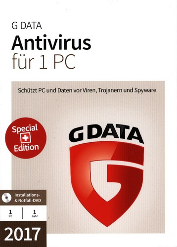 GData AntiVirus 2017 Swiss Edition (1PC)