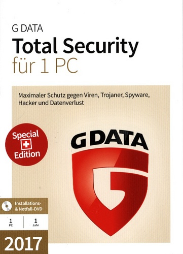 GData Total Security 2017 Swiss Edition (1 PC)