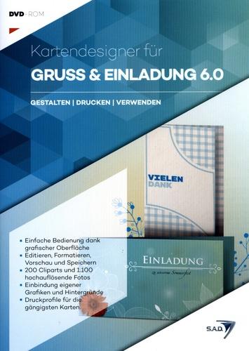 Kartendesigner für Gruss & Einladung 6.0 [DVD]