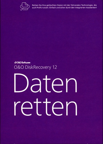 O&O DiskRecovery 12 Professional Edition - Daten retten