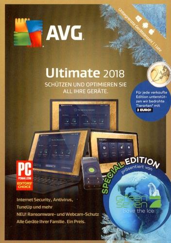AVG Ultimate 2018 - Special Edition [unbegrenzte Lizenzen]