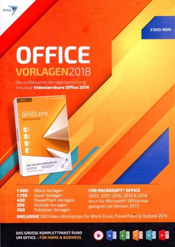 Office Vorlagen 2018 [inkl. Videolernkurs]