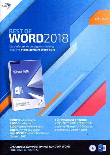 Best of Word 2018 [inkl. Videolernkurs]