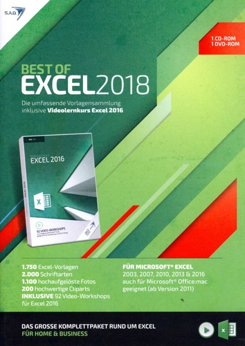 Best of Excel 2018 [inkl. Videolernkurs]