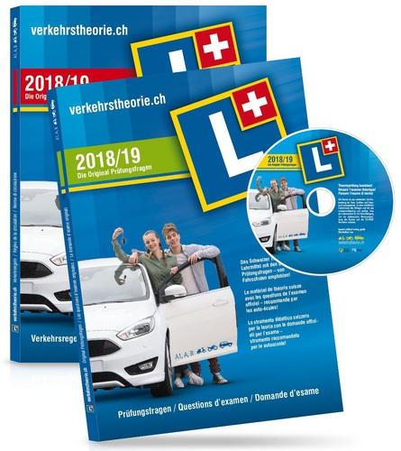 verkehrstheorie.ch 2018/19 [Kat. A+B] Set  Software+Arbeitsheft