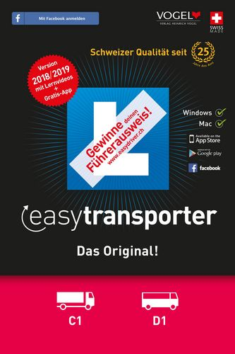 easytransporter 2018/19 Theorieprüfung [Kat. C1/D1]