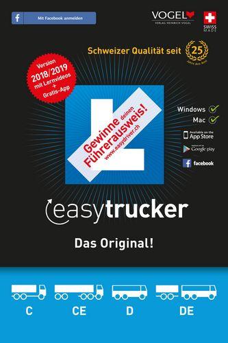 easytrucker 2018/19 Theorieprüf. f. Lastwagen [Kat. C/CE+D/DE]