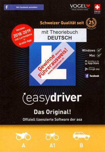 easydriver 2018/19 inkl. Theoriebuch Deutsch