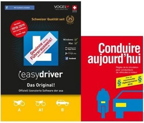 easydriver 2018/19 inkl. Theoriebuch Französisch