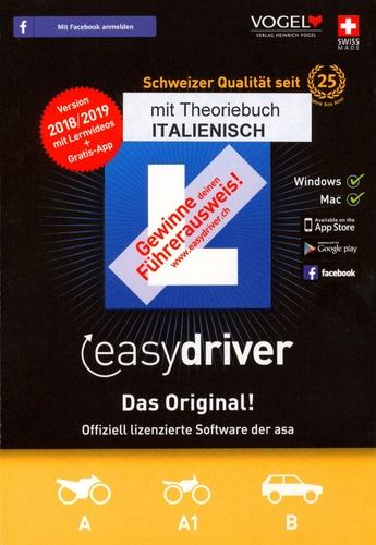 easydriver 2018/19 inkl. Theoriebuch Italienisch