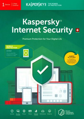 Kaspersky Internet Security (1 PC)