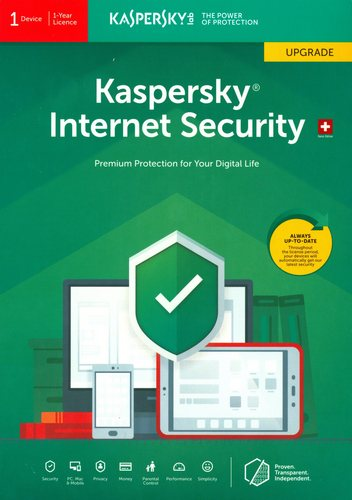 Kaspersky Internet Security (1 PC) Upgrade