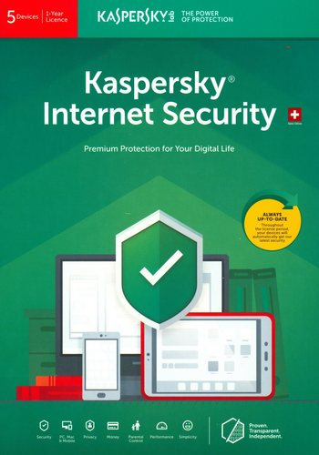 Kaspersky Internet Security (5 PC)