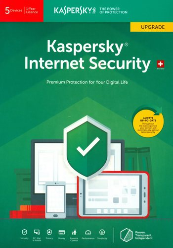 Kaspersky Internet Security (5 PC) Upgrade
