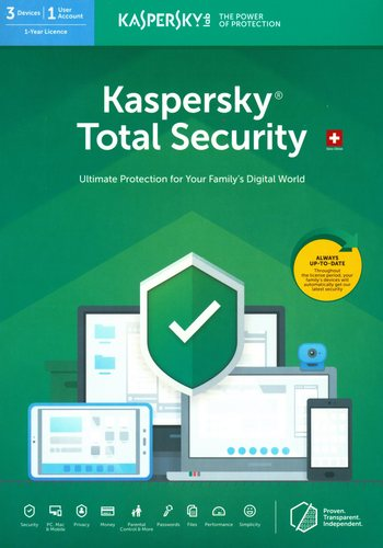 Kaspersky Total Security (3 PC)