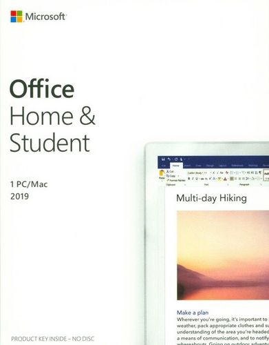 Office Home and Student 2019 [PC]