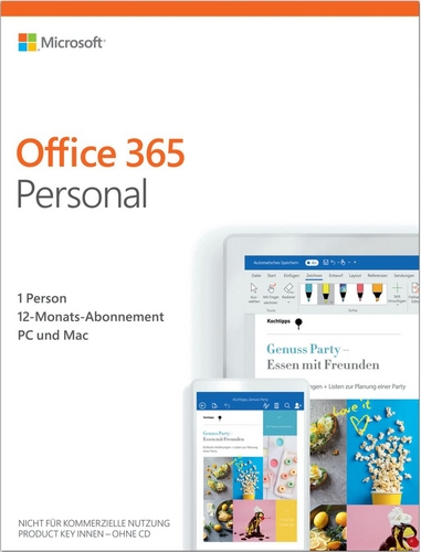Office 365 Personal 1 Jahr Abonnement