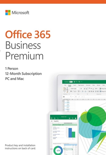 Office 365 Bus Prem Retail 1 Year Subscription