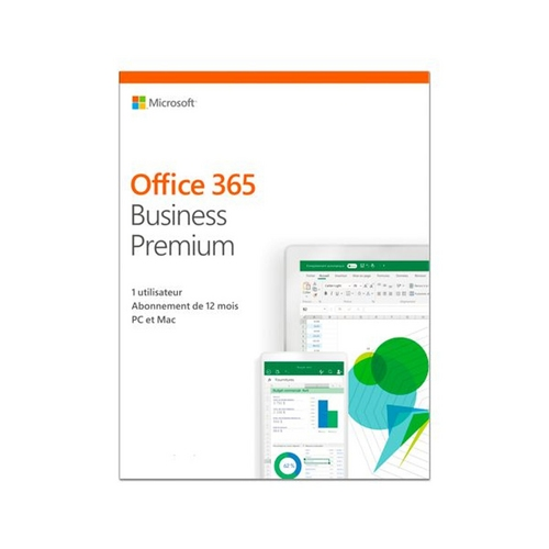 Office 365 Bus Prem Retail Abonnement d'un an