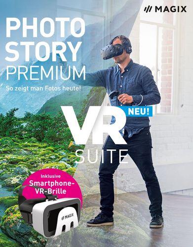 MAGIX Photostory Premium VR Suite inkl. VR-Brille