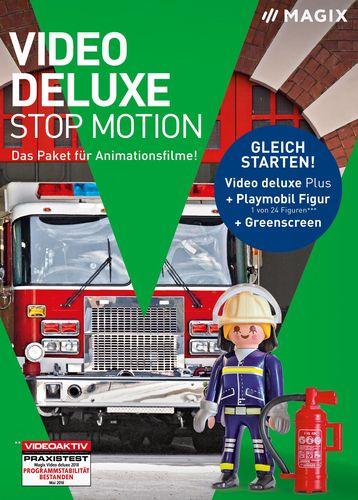 MAGIX Video deluxe Stop Motion Bundle 2019