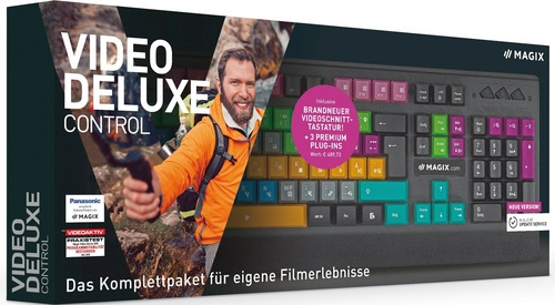MAGIX Video deluxe Control Edition 2019