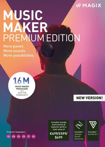 MAGIX Music Maker Premium Edition 2019