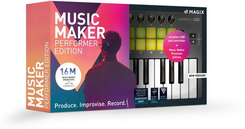 MAGIX Music Maker Performer Edition 2019