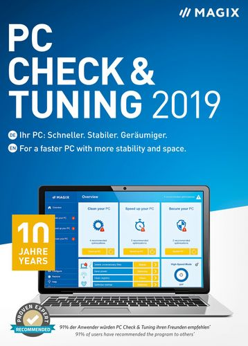 MAGIX PC Check & Tuning 2019