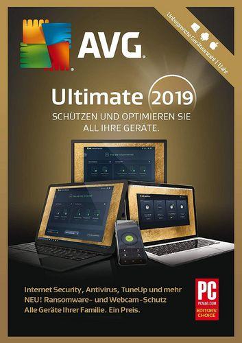 AVG Ultimate 2019 [unbegrenzte Lizenzen]