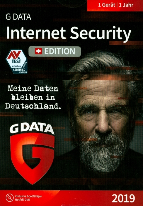 GData Internet Security 2019 Swiss Edition (1PC) [PC] (D/F/I) - Thali