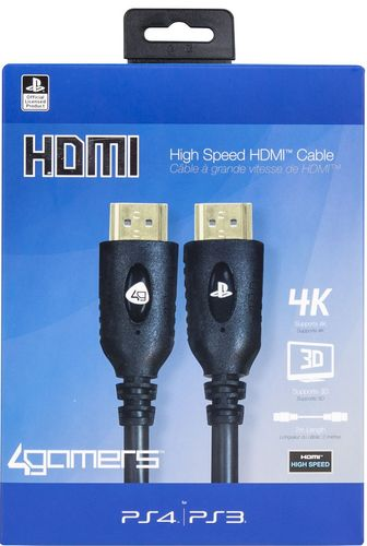 High Speed HDMI Cable 2m - black