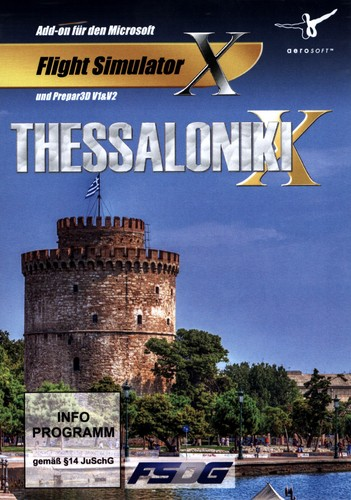 Thessaloniki X für FSX / Prepar3D [Add-On]
