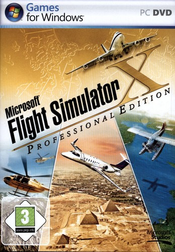 Pyramide: Microsoft Flight Simulator X - Professional Edition [DVD]