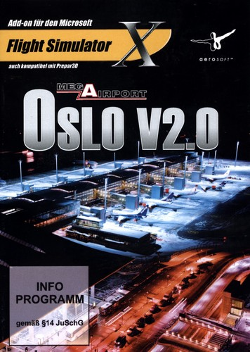 OSLO V2.0 Mega Airport für FSX [Add-On]