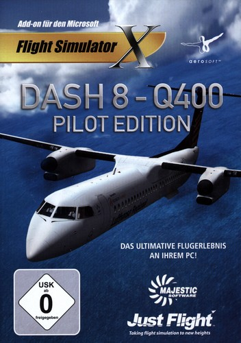 Dash 8 - Q400 Pilot Edition für FSX [Add-On]