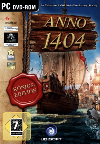 Pyramide: Anno 1404 - Königsedition [DVD]