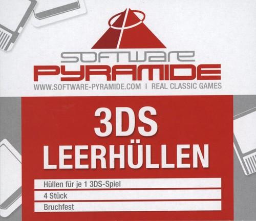 3DS-Leerhüllen [4 Stk] - white