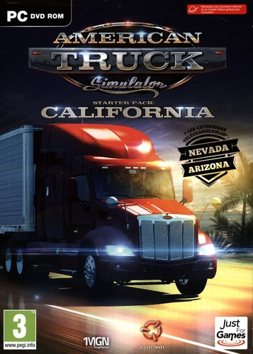 American Truck Simulator - Starter Pack : California