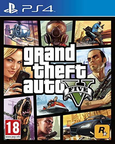 GTA 5 - Grand Theft Auto V [PS4]