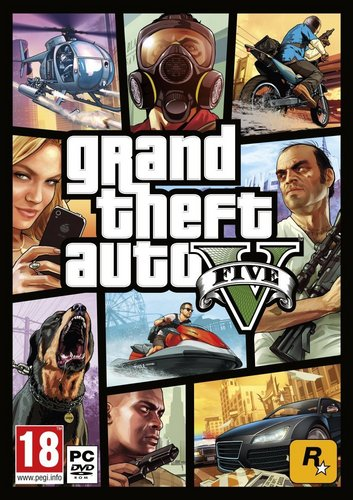 GTA 5 - Grand Theft Auto V [DVD]