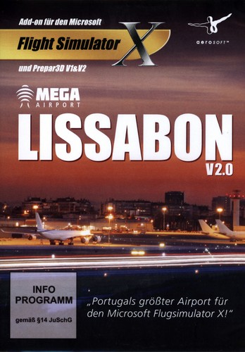 Lissabon V2.0 Mega Airport für FSX/Prepard3D  [Add-on]