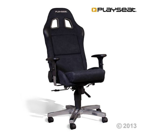Playseat® Office Seat Alcantara - black