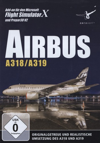 Airbus A318/A319 für FSX und Prepar3D V2 [Add-On]