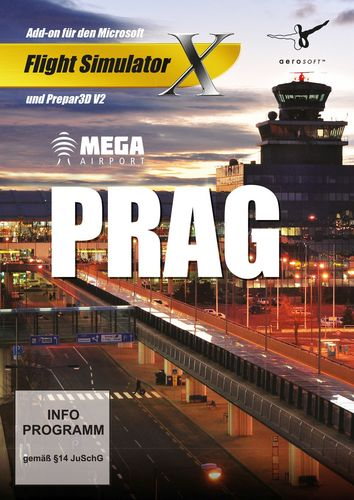 Prag Mega Airport für FSX und Prepar3D V3 [Add-On] [DVD]